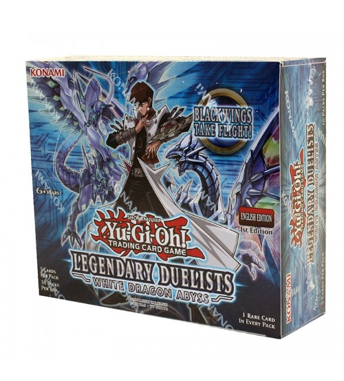 YuGiOh Legendary Duelists White Dragon Abyss LED3 1st Edition Booster Box, 36/Pack