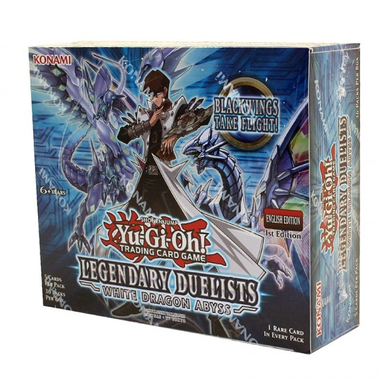 Yu-Gi-Oh Legendary Duelists: White Dragon Abyss 1st Edition Booster Box, 36/Pack