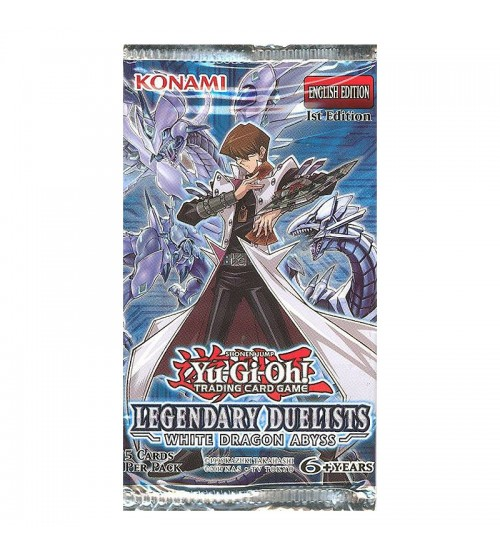 Yu-Gi-Oh Legendary Duelists: White Dragon Abyss 1st Edition 5-Card Booster Pack