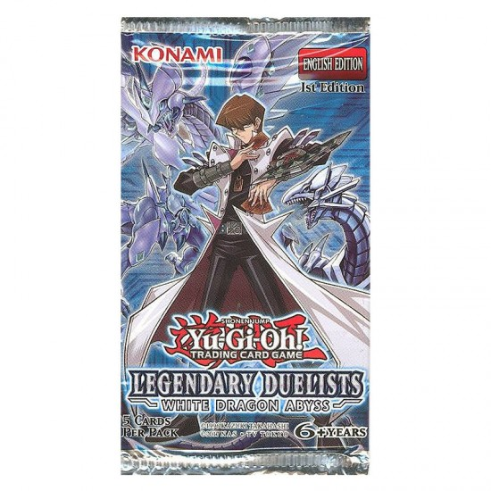 YuGiOh Legendary Duelists White Dragon Abyss LED3 1st Edition 5-Card Booster Pack