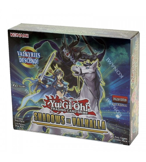 YuGiOh Shadows In Valhalla SHVA 1st Edition Booster Box, 24/Pack