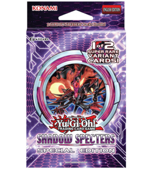 YuGiOh Shadow Specters SHSP Special Edition Booster Pack