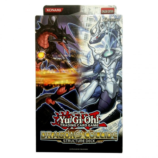 YuGiOh Dragons Collide SDDC Structure Deck