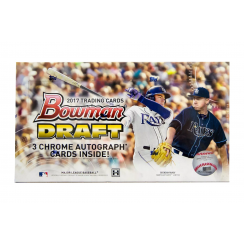 2017 Bowman Draft Baseball Hobby Jumbo Box