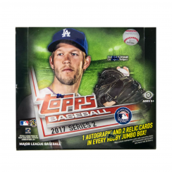 2017 Topps Series 2 Baseball Hobby Jumbo Box
