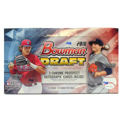 2018 Bowman Draft Baseball Hobby Jumbo Box