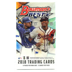 2018 Bowman's Best Baseball Hobby Mini Box