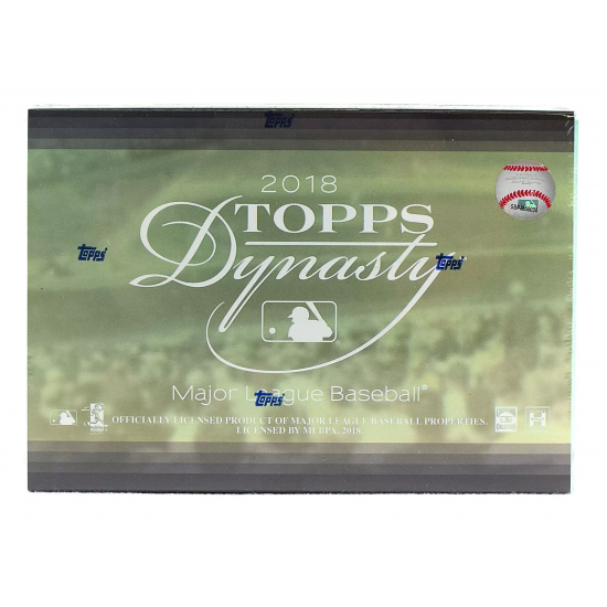 2018 Topps Dynasty Baseball Hobby Box