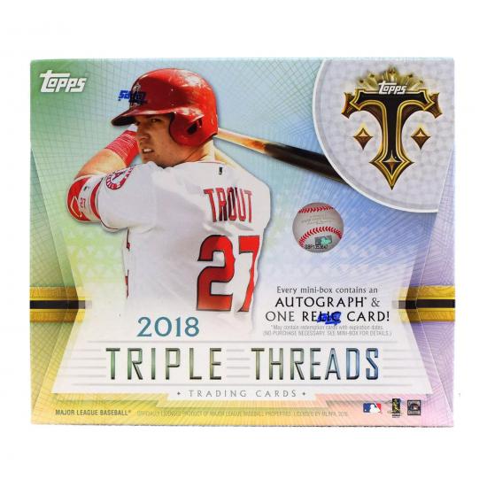 2018 Topps Triple Threads Baseball Hobby Box