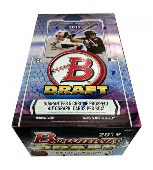 2019 Bowman Draft Baseball Hobby Super Jumbo Box