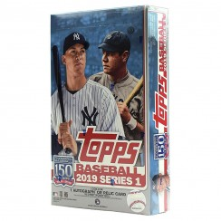 2019 Topps Series 1 Baseball Hobby Box