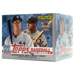 2019 Topps Series 1 Baseball Hobby Jumbo Box