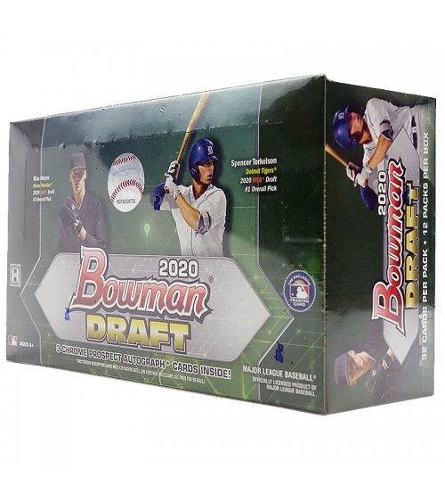 2020 Bowman Draft Baseball Hobby Jumbo Box