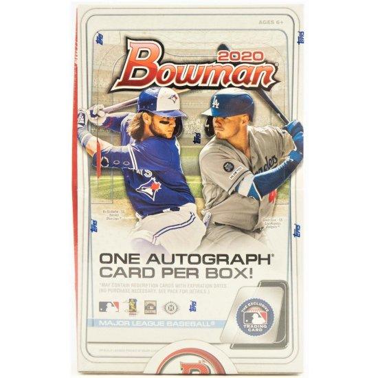 2020 Bowman Baseball Hobby Jumbo Box