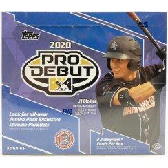 2020 Topps Pro Debut Baseball Hobby Jumbo Box