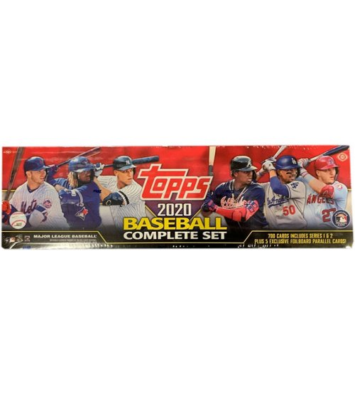2020 Topps Series 1 & 2 Baseball Complete Factory Set (700 Cards)