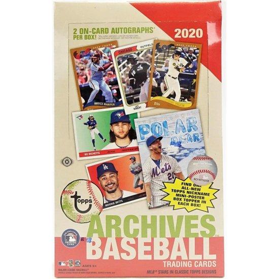 2020 Topps Archives Baseball Hobby Box