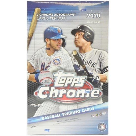 2020 Topps Chrome Baseball Hobby Box