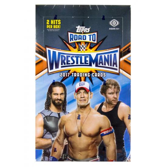 2017 Topps WWE Road to Wrestlemania Wrestling Hobby Box