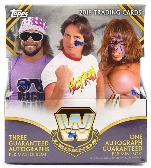 2018 Topps WWE Legends Wrestling Hobby Box