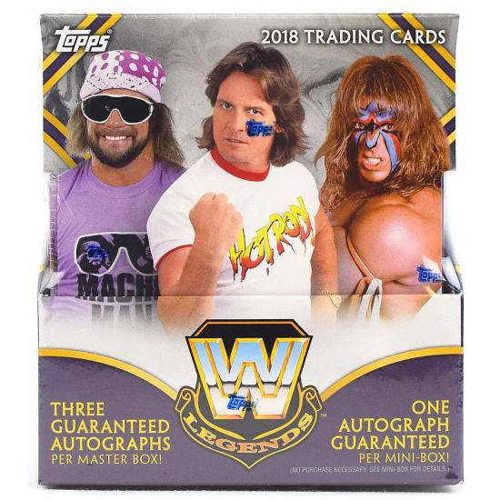 2018 Topps WWE Legends Wrestling Hobby Box