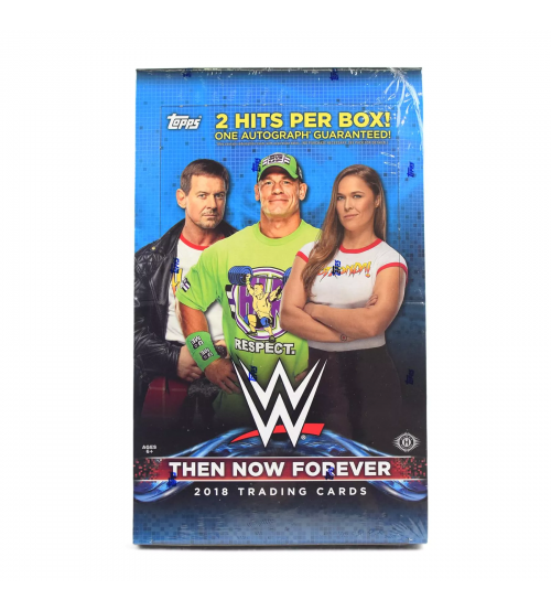 2018 Topps WWE Then Now Forever Wrestling Hobby Box