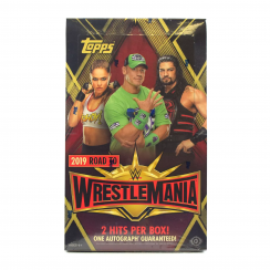 2019 Topps WWE Road to Wrestlemania Wrestling Hobby Box