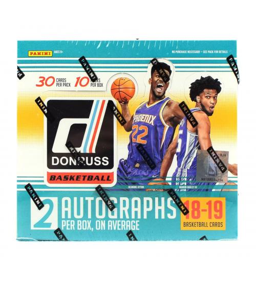 2018-19 Panini Donruss Basketball Hobby Box