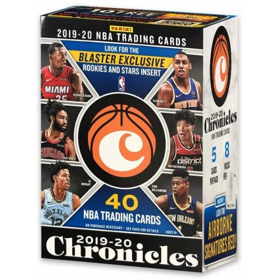 2019-20 Panini Chronicles Basketball 8-Pack Blaster Box