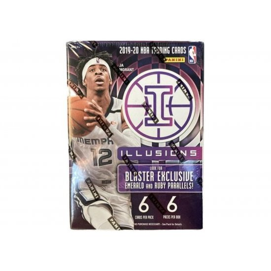 2019-20 Panini Illusions Basketball 6-Pack Blaster Box