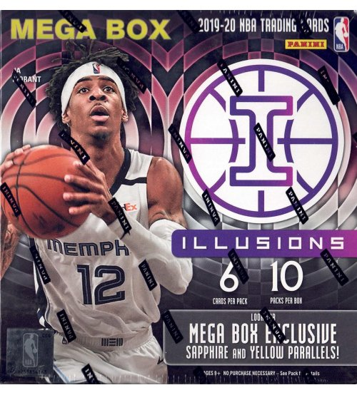 2019-20 Panini Illusions Basketball Mega Box