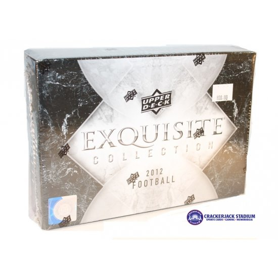 2012 Upper Deck Exquisite Collection Football Hobby Box