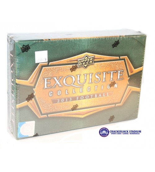 2013 Upper Deck Exquisite Collection Football Hobby Box