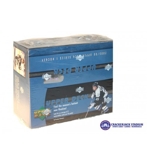 2005-06 Upper Deck Series 1 Hockey Retail Box