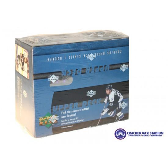 2005-06 Upper Deck Series 1 Hockey Retail Box