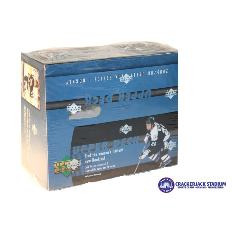 2005 06 Upper Deck Series 1 Hockey Retail Box