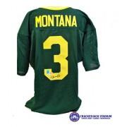 Joe Montana Notre Dame Fighting Irish Autographed Green Jersey