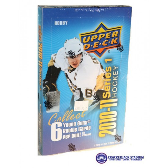 2010-11 Upper Deck Series 1 Hockey Hobby Box