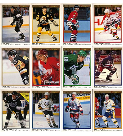 1990-91 O-Pee-Chee Premier Hockey 132-Card Complete Set
