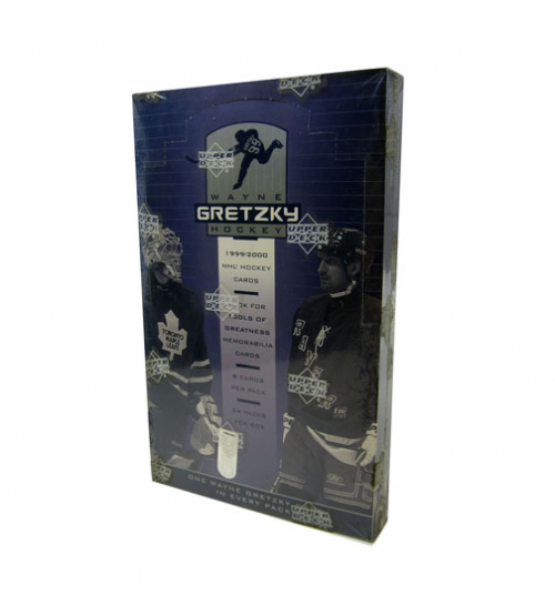 1999/00 Upper Deck Wayne Gretzky Hockey Hobby Box