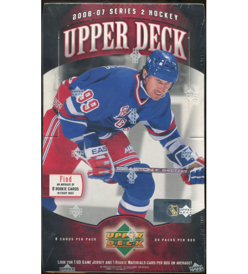 2006-07 Upper Deck Series 2 Hockey Hobby Box
