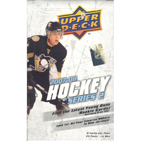 2007-08 Upper Deck Series 2 Hockey Hobby Box