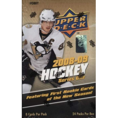2008-09 Upper Deck Series 1 Hockey Hobby Box