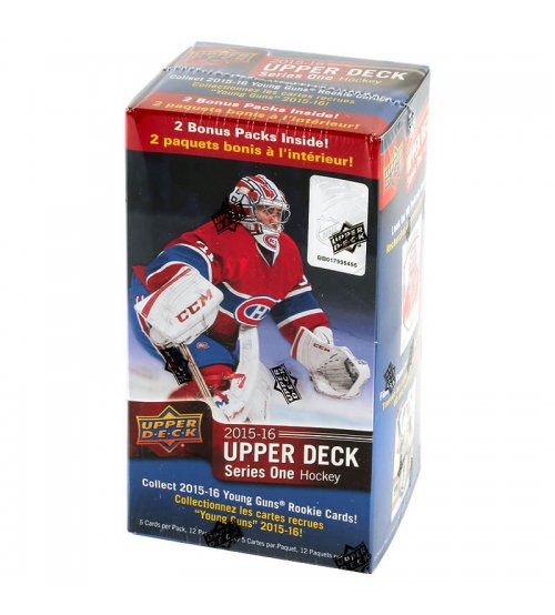 2015-16 Upper Deck Series 1 Hockey 12-Pack Blaster Box