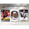 2015-16 Upper Deck Series 1 Hockey Retail Blaster Box