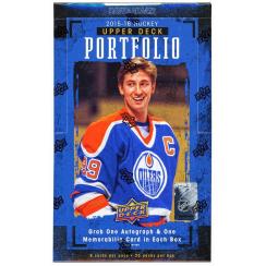 2015-16 Upper Deck Portfolio Hockey Hobby Box