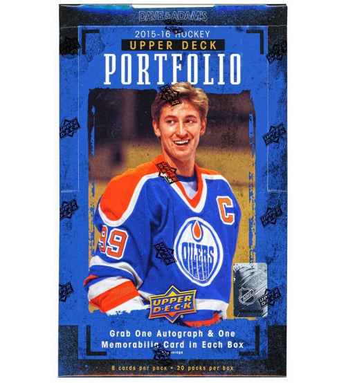 2015-16 Upper Deck Portfolio Hockey Hobby Box