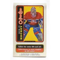 2018-19 Upper Deck O-Pee-Chee Hockey Hobby Box