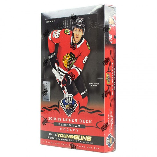 2018-19 Upper Deck Series 2 Hockey Hobby Box