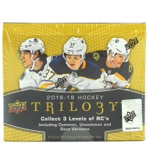 2018-19 Upper Deck Trilogy Hockey Hobby Box